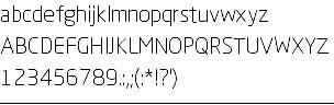 悦黑纤细体字体