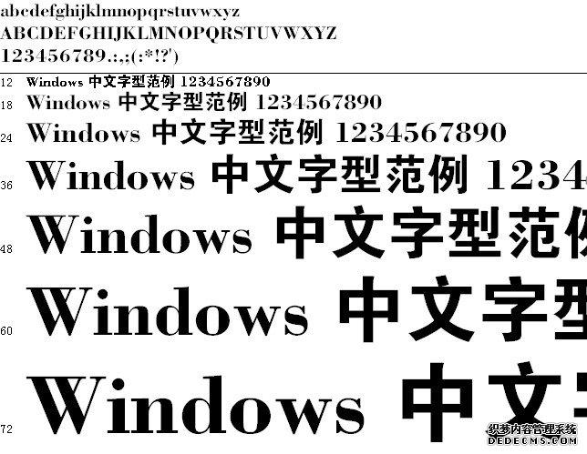 碳化硅大黑体字体