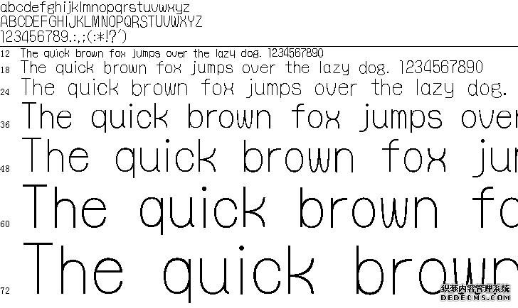 怀风体字体